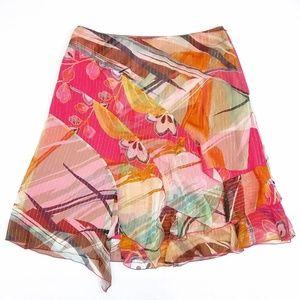 Peter Nygard silk skirt size 14